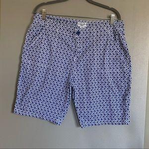 Caribbean Joe Women's Shorts 16P Size Blue